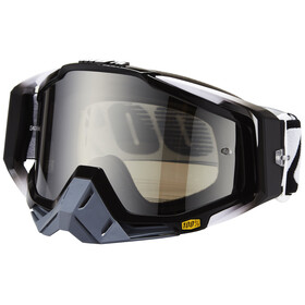 100% Racecraft Goggle abyss black/mirror silver anti fog